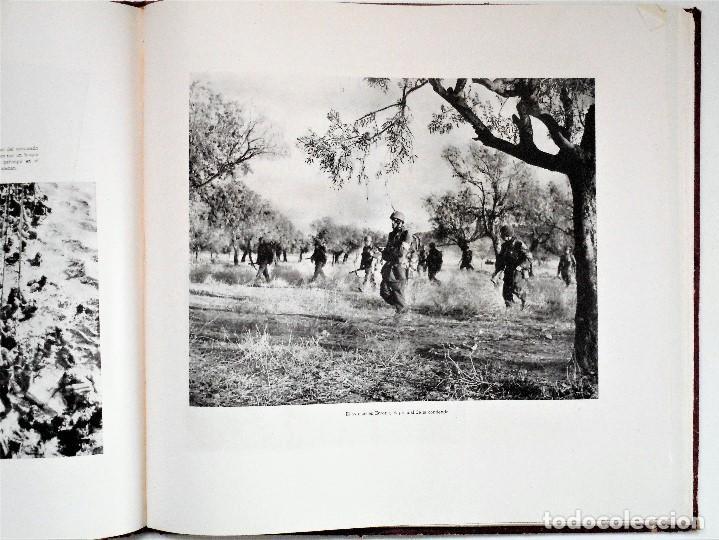 Militaria: ALBUM DE HOMENAJE A LA GRAN BRETAÑA - EDITA REVISTA LICEO AÑO 1945 - Foto 9 - 143040598