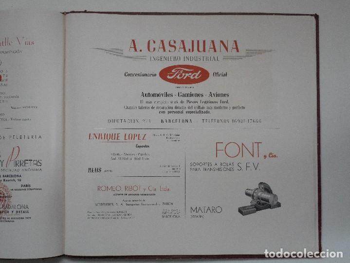 Militaria: ALBUM DE HOMENAJE A LA GRAN BRETAÑA - EDITA REVISTA LICEO AÑO 1945 - Foto 12 - 143040598