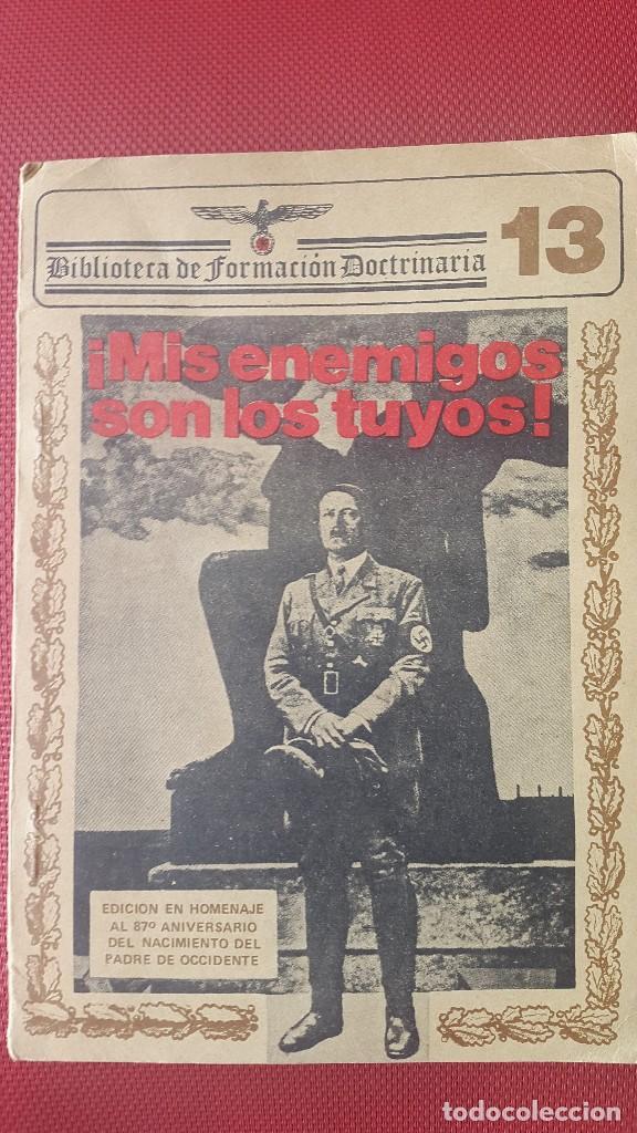 CUADERNO PROPAGANDÍSTICO ALEMÁN (CUADERNO CON LOS DISCURSOS DEL HITLER) (Militar - Libros y Literatura Militar)