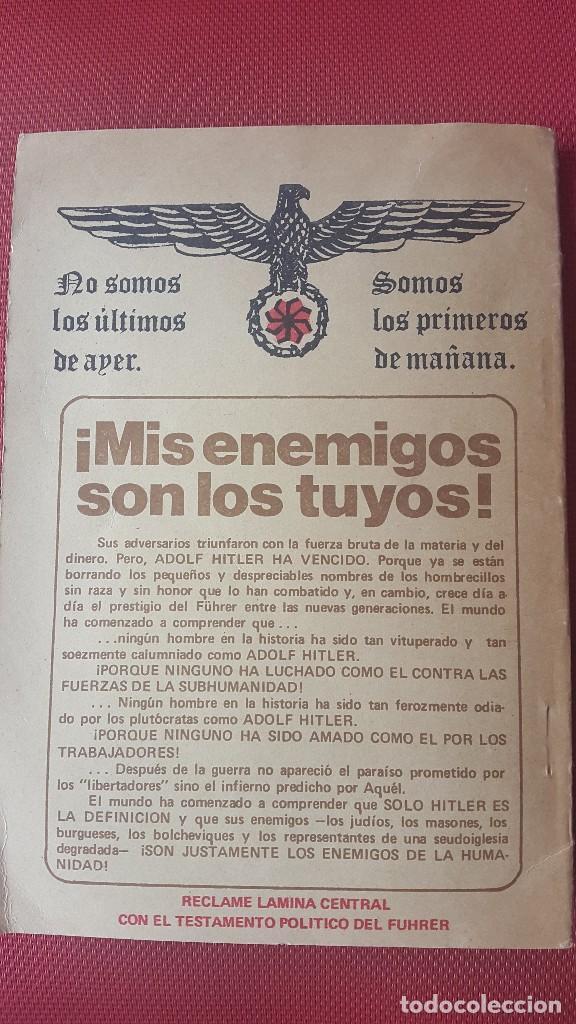 Militaria: CUADERNO PROPAGANDÍSTICO ALEMÁN (Cuaderno con los discursos del HITLER) - Foto 2 - 87154428