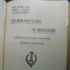 Militaria: 1925 LOS MODERNOS GLOBOS DE OBSERVACION F. MARTINEZ Y A. GARCÍA VALLEJO. Lote 88109168