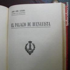 Militaria: 1925 EL PALACIO DE BUENAVISTA J. LARA ALHAMA. Lote 88109920