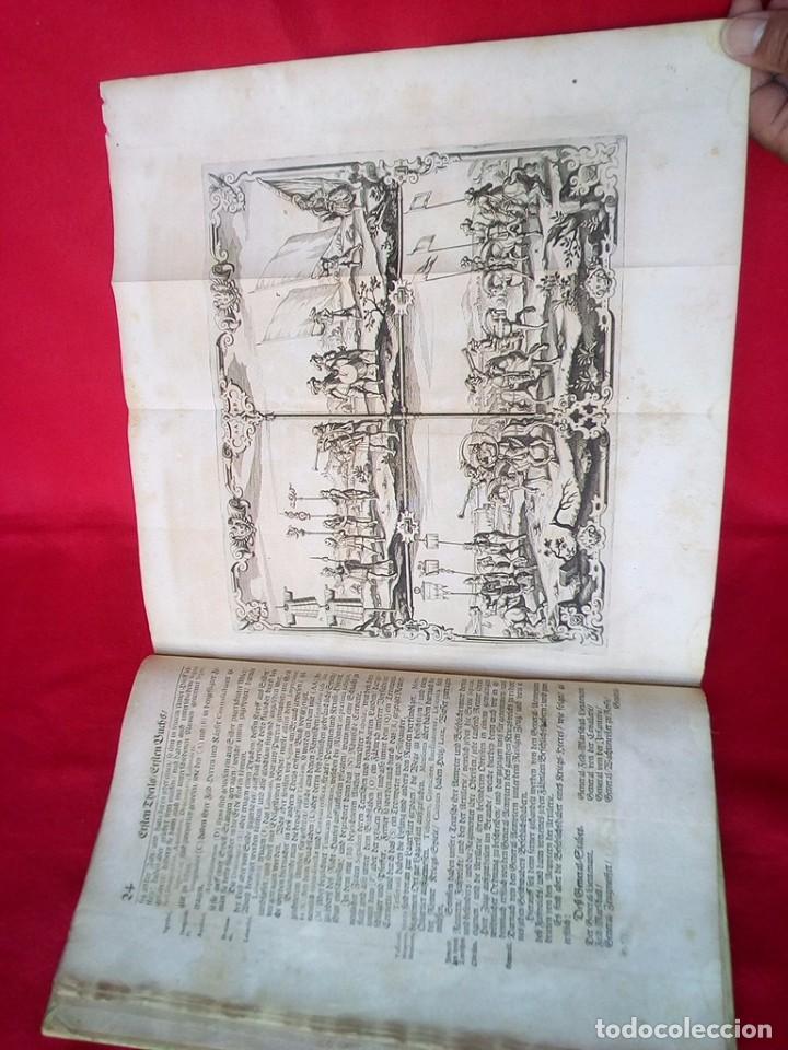 Militaria: 1687- 89 DECENAS DE GRABADOS ALGUNOS PLEGADOS ESCUELA DE GUERRA TRATADO DE ARTILLERIA 35 CMS - Foto 13 - 88132680