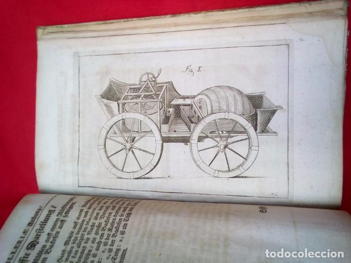 Militaria: 1687- 89 DECENAS DE GRABADOS ALGUNOS PLEGADOS ESCUELA DE GUERRA TRATADO DE ARTILLERIA 35 CMS - Foto 21 - 88132680