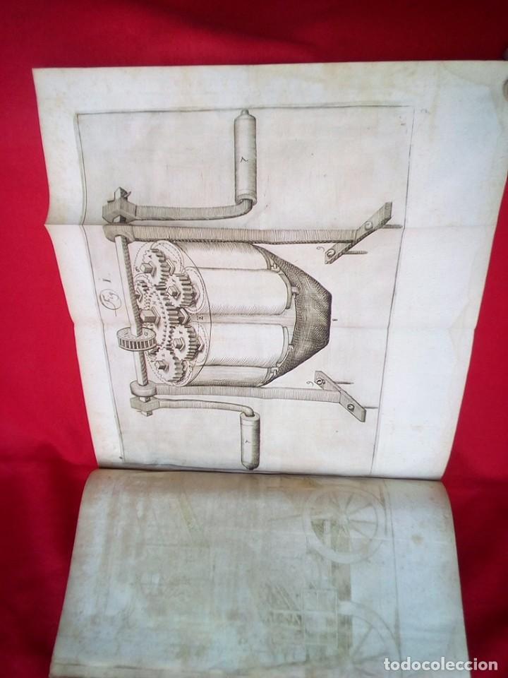 Militaria: 1687- 89 DECENAS DE GRABADOS ALGUNOS PLEGADOS ESCUELA DE GUERRA TRATADO DE ARTILLERIA 35 CMS - Foto 22 - 88132680