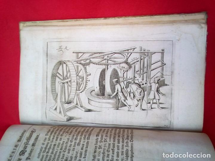 Militaria: 1687- 89 DECENAS DE GRABADOS ALGUNOS PLEGADOS ESCUELA DE GUERRA TRATADO DE ARTILLERIA 35 CMS - Foto 23 - 88132680