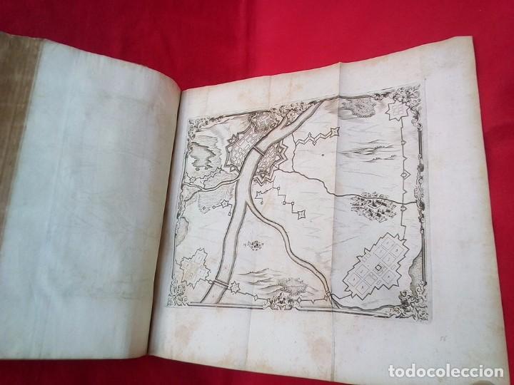Militaria: 1687- 89 DECENAS DE GRABADOS ALGUNOS PLEGADOS ESCUELA DE GUERRA TRATADO DE ARTILLERIA 35 CMS - Foto 27 - 88132680