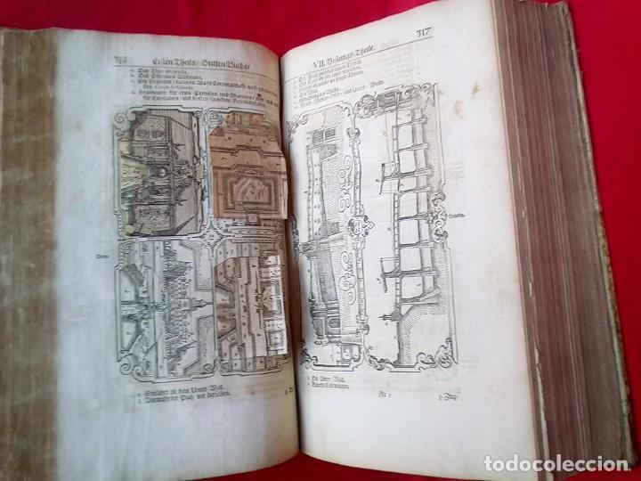 Militaria: 1687- 89 DECENAS DE GRABADOS ALGUNOS PLEGADOS ESCUELA DE GUERRA TRATADO DE ARTILLERIA 35 CMS - Foto 29 - 88132680