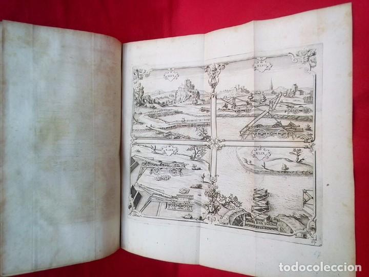 Militaria: 1687- 89 DECENAS DE GRABADOS ALGUNOS PLEGADOS ESCUELA DE GUERRA TRATADO DE ARTILLERIA 35 CMS - Foto 30 - 88132680
