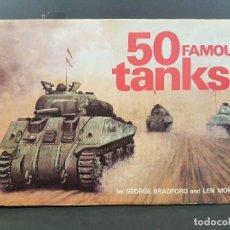 Militaria: 50 FAMOUS TANKS. Lote 88141360