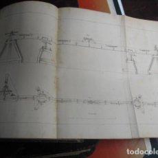 Militaria: 1868 NUEVO APARATO DE MEDIR BASES GEODESICAS CARLOS IBAÑEZ. Lote 88270900