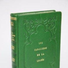 Militaria: ANTIGUO LIBRO REENCUADERNADO - LOS CABALLEROS DE LA LEGIÓN. CARLOS MICÓ ESPAÑA - MADRID, 1922 . Lote 88296652