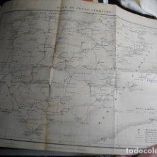 Militaria: 1866 INFORME SOBRE EL PLAN GENERAL DE FERROCARRILES DE ESPAÑA POR LA JUNTA DE ESTADISTICA. Lote 94159688