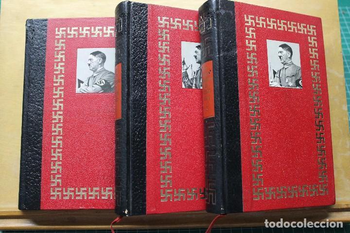 LA VIDA FANTÁSTICA DE ADOLFO HITLER TRES TOMOS (Militar - Libros y Literatura Militar)