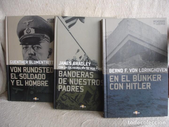 EN EL BÚNKER CON HITLER + VON RUNDSTEDT + BANDERAS DE NUESTROS PADRES (Militar - Libros y Literatura Militar)