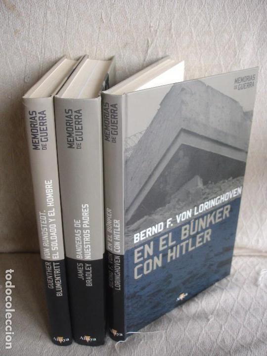 Militaria: En el búnker con Hitler + Von Rundstedt + Banderas de nuestros padres - Foto 2 - 88789724