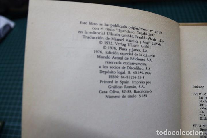 Militaria: Diario de Spandau por Albert Speer - Foto 2 - 88790184
