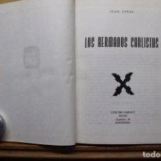 Militaria: LOS HERMANOS CARLISTAS. Lote 88974172