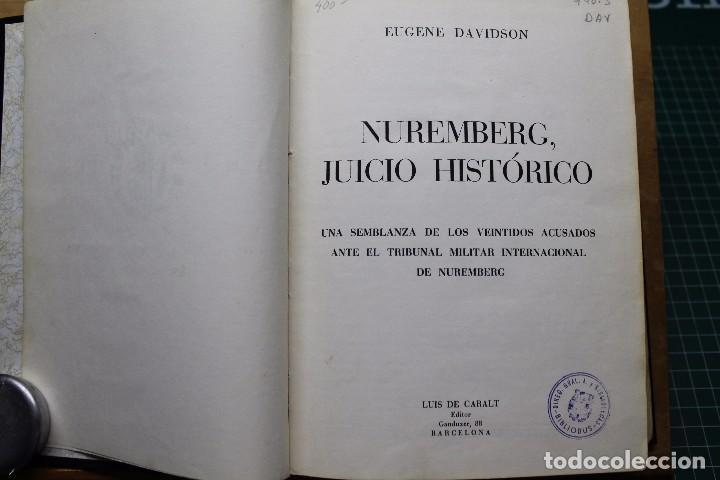 NUREMBERG JUICIO HISTORICO (Militar - Libros y Literatura Militar)