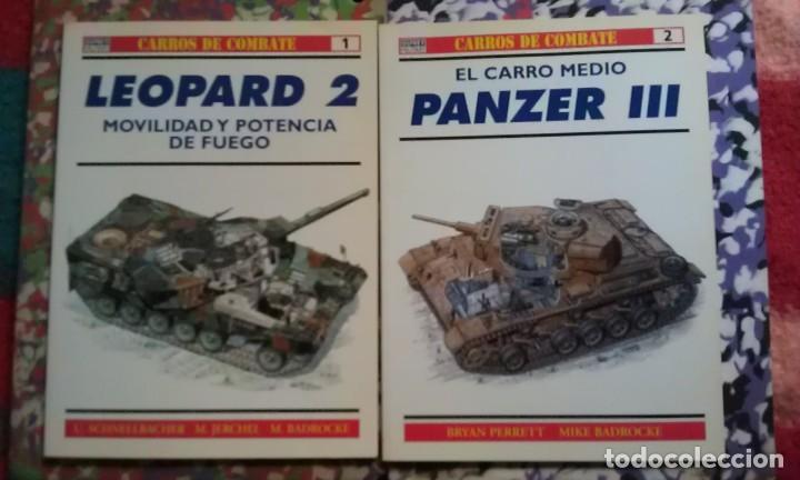 CARROS DE COMBATE - OSPREY MILITARY - LOTE 1,2 (Militar - Libros y Literatura Militar)