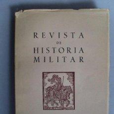 Militaria: REVISTA DE HISTORIA MILITAR / 1959 / Nº 4. Lote 89715364