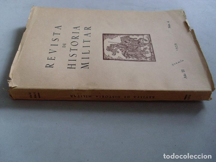 Militaria: REVISTA DE HISTORIA MILITAR / 1959 / Nº 4 - Foto 2 - 89715364