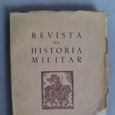 Militaria: REVISTA DE HISTORIA MILITAR / 1961 / Nº 9. Lote 89715652