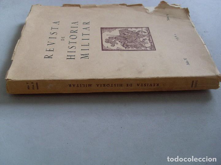 Militaria: REVISTA DE HISTORIA MILITAR / 1961 / Nº 9 - Foto 2 - 89715652