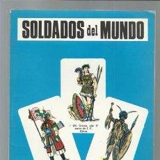 Militaria: SOLDADOS DEL MUNDO (3 DE 3), 1968, MUY BUEN ESTADO. Lote 90050140