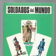 Militaria: SOLDADOS DEL MUNDO (2 DE 3), 1968, MUY BUEN ESTADO. Lote 90050324