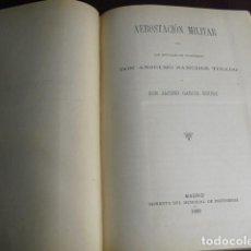 Militaria: 1889 AEROSTACIÓN MILITAR SANCHEZ TIRADO Y GARCÍA ROURE. Lote 90524085