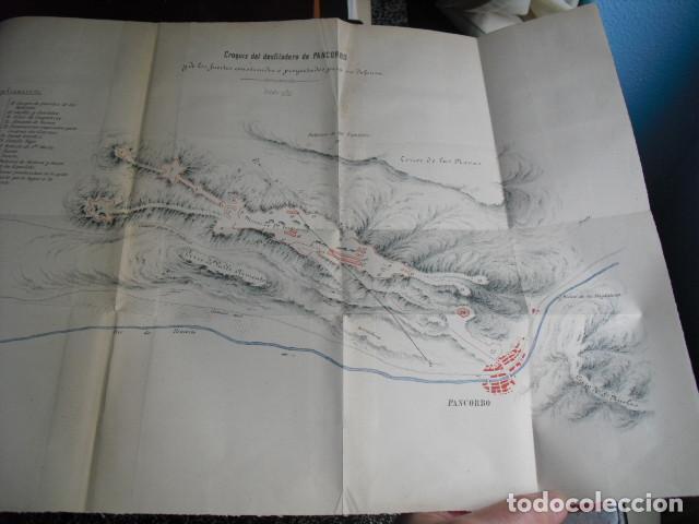 1883 FORTIFICACIONES Y EDIFICIOS MILITARES DE PANCORBO (Militar - Libros y Literatura Militar)