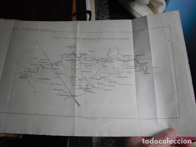 Militaria: 1883 FORTIFICACIONES Y EDIFICIOS MILITARES DE PANCORBO - Foto 3 - 90606640