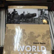 Militaria: WORLD WAR II IN PHOTOGRAPHS. Lote 91240099