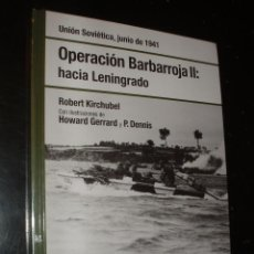 Militaria: LIBRO OSPREY OPERACION BARBARROJA II HACIA LENINGRADO,NUEVO PRECINTADO. Lote 91691065