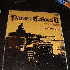 Militaria: LIBRO PANZER COLORS II,IDENTIFICACION TANQUES II GUERRA MUNDIAL. Lote 91695300