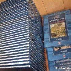 Militaria: B561 - GRANDES EPOCAS DE LA AVIACION. AVION. MILITAR. PILOTOS.EN TIERRAS AGRESTES. 2 TOMOS (29+30). Lote 91956305