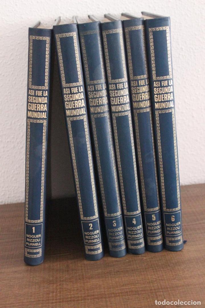 ASÍ FUE LA SEGUNDA GUERRA MUNDIAL-COMPLETA-NOGUER RIZZOLI PURNELL-MUCHAS IMÁGENES-1972 (Militar - Libros y Literatura Militar)