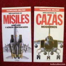 Militaria: TECNOLOGIA MILITAR CAZAS MODERNOS Y MISILES AIRE-AIRE DE ORBY.. Lote 93144870