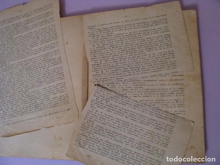 Militaria: ASPIRANTE A GUARDIA CIVIL AÑO 1944. CUARTA EDICIÓN. - Foto 5 - 93176045
