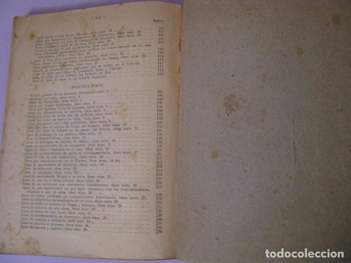 Militaria: ASPIRANTE A GUARDIA CIVIL AÑO 1944. CUARTA EDICIÓN. - Foto 10 - 93176045