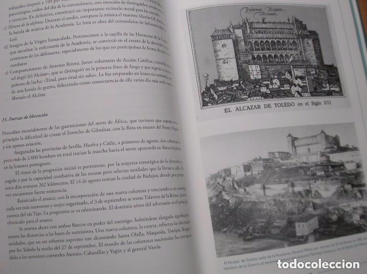 Militaria: EL ALCAZAR NO SE RINDE. GRAN FORMATO. PROFUSAMENTE ILUSTRADO. IMPRESCINDIBLE. - Foto 6 - 93298550
