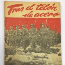 Militaria: AÑO 1948 - BOTZARIS TRAS EL TELÓN DE ACERO - EDICIONES COMBATE CON AUTÓGRAFO. Lote 93660420