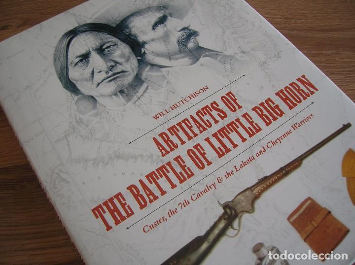 HALLAZGOS EN EL CAMPO DE BATALLA DE LITTLE BIG HORN. 7º DE CABALLERIA. GENERAL CUSTER. CABALLO LOCO. (Militar - Libros y Literatura Militar)