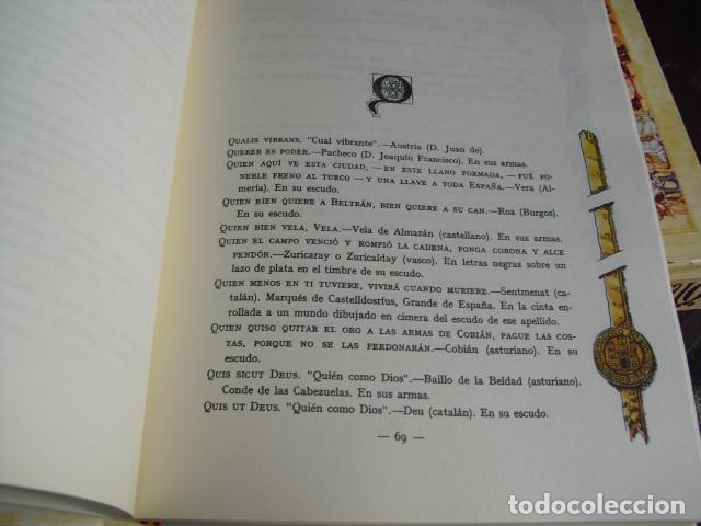 Militaria: TRATADO DE HERALDICA MILITAR SERVICIO HCO. MILITAR OBRA COMPLETA SEIS LIBROS EN TRES VOLUMENES - Foto 4 - 93698705