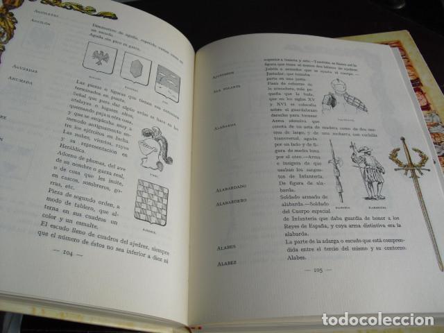 Militaria: TRATADO DE HERALDICA MILITAR SERVICIO HCO. MILITAR OBRA COMPLETA SEIS LIBROS EN TRES VOLUMENES - Foto 5 - 93698705