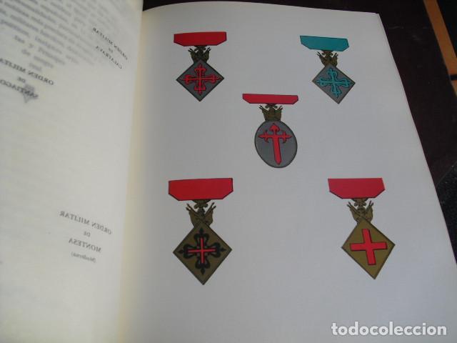 Militaria: TRATADO DE HERALDICA MILITAR SERVICIO HCO. MILITAR OBRA COMPLETA SEIS LIBROS EN TRES VOLUMENES - Foto 7 - 93698705