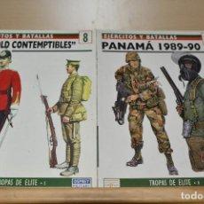 Militaria: PANAMA 1989-90 Y LOS OLD CONTEMPTIBLES BIBLIOTECA OSPREY MILITAR . Lote 93851440