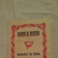Militaria: ACADEMIA DE INFANTERÍA, FESTEJOS DE 1953. ÚNICO. Lote 94196652