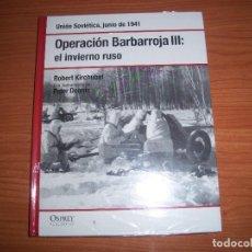 Militaria: OSPREY 2ª GUERRA MUNDIAL: OPERACION BARBARROJA III: EL INVIERNO RUSO. Lote 94386018